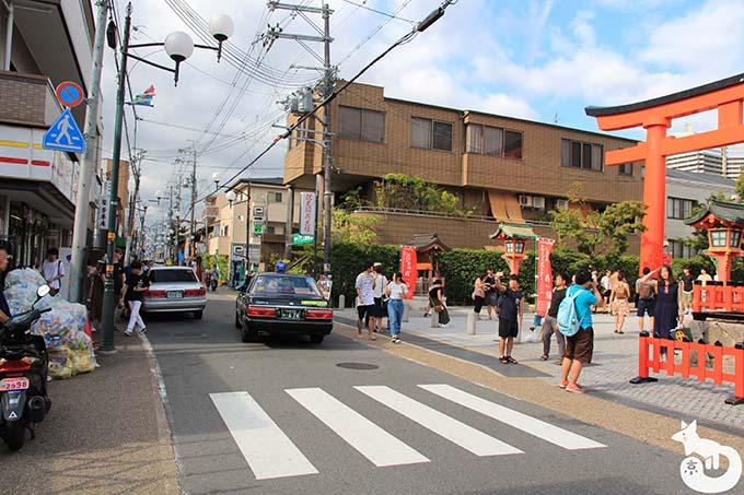 猫カフェTiME(タイム)へのアクセス方法|稲荷駅を下車