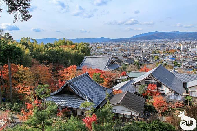 圓光寺 山上からの景色