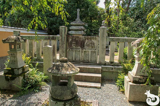 宝筐院 墓所