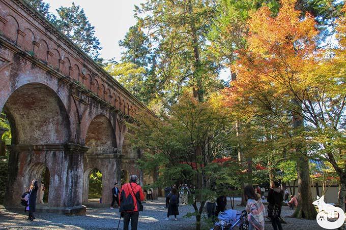 南禅寺 水路閣の紅葉