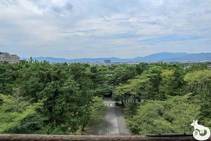 南禅寺 三門からの眺め