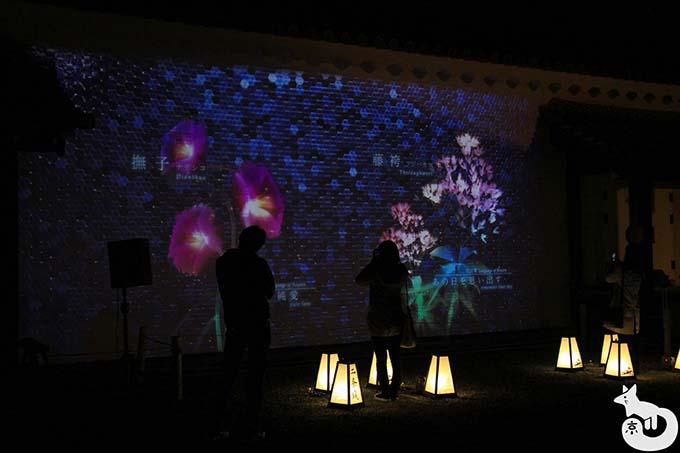 二条城 秋のライトアップ|MOSAIC FLOWERS〜秋の七草〜