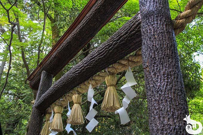 着物を着て野宮神社へ良縁祈願