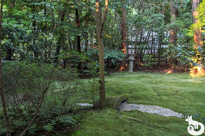 野宮神社 苔庭
