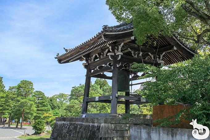 清涼寺 鐘楼