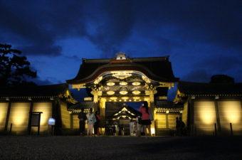 二条城 夏のライトアップ|2018年の開催日程【京の七夕】
