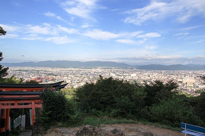 京都市内の景色