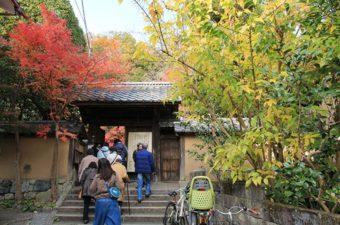 瑠璃光院から蓮華寺へのアクセス