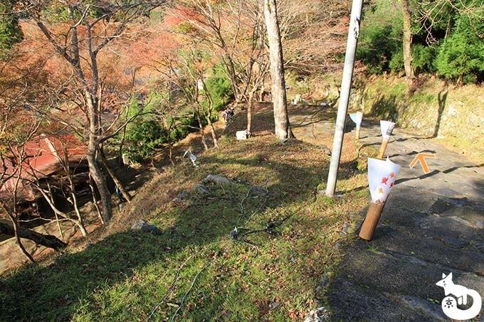 神護寺へのルート2