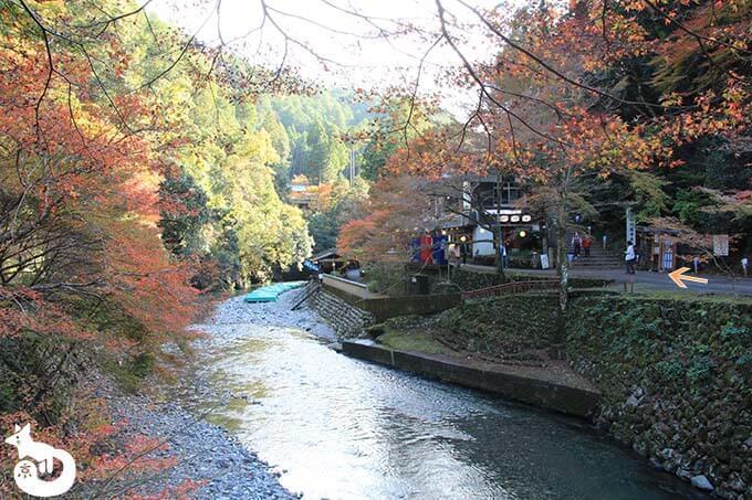 神護寺へのルート4