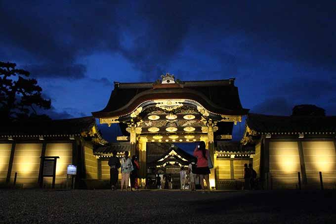 京の七夕 二条城会場