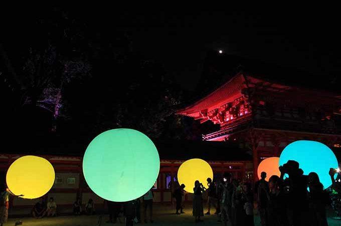 下鴨神社 チームラボのライトアップに行ってきた|混雑状況および混雑回避方法を紹介