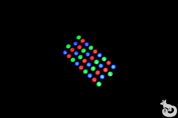 ライトアップ用の装置