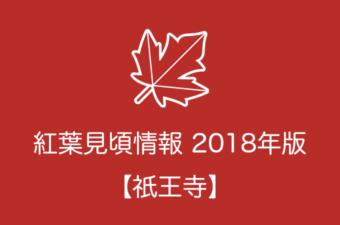 祇王寺の紅葉情報2018 色づき始めの時期や見頃情報