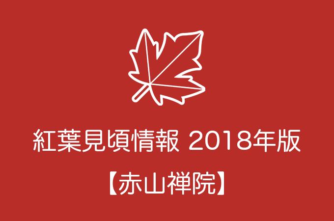 赤山禅院の紅葉情報2018|色づき始めの時期や見頃情報