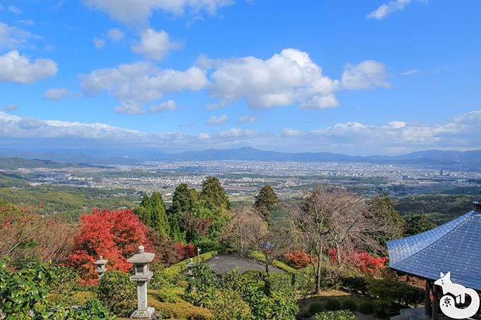 善峯寺 薬師堂からの風景